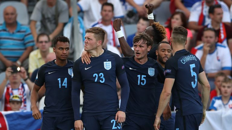 England U21 Alfie Mawson revealed how a half-time row was key to their comeback victory over Slovakia