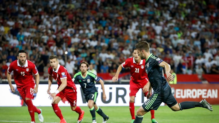 Reds Attacker Ben Woodburn Bags a Worldie as Wales Down Austria