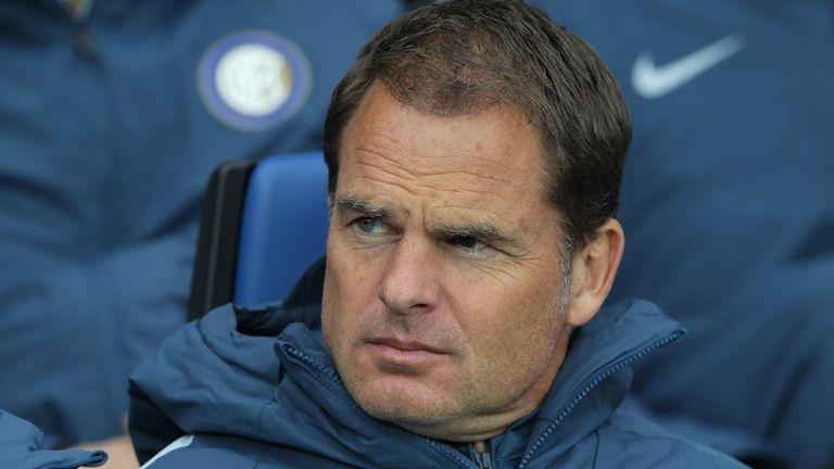 Frank de Boer lasted just 85 days at Inter