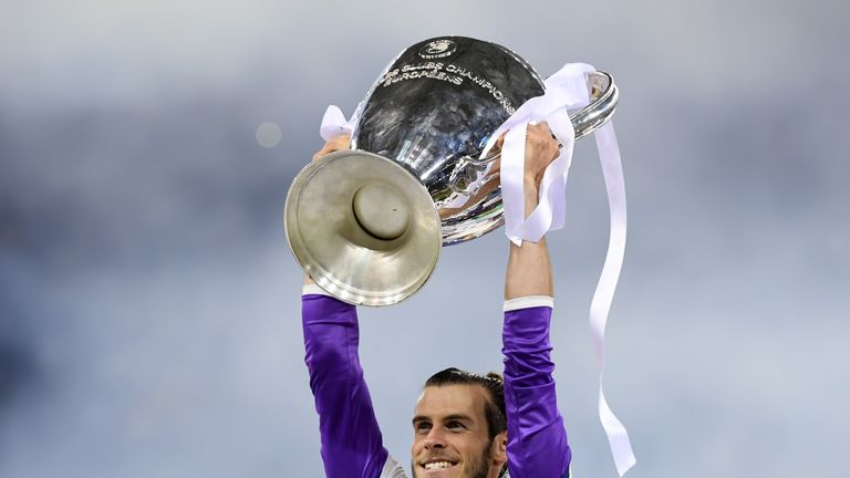 'Happy' Gareth Bale aims for more trophies at Real Madrid C.F.