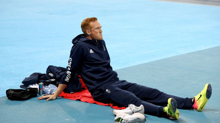 Greg Rutherford faces a race to be 100 per cent in time for August's World Championships in London