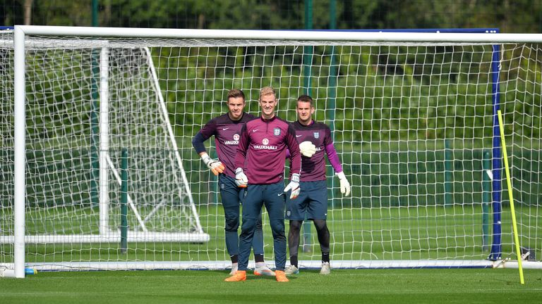 Hart makes way as Heaton and Butland handed England chances