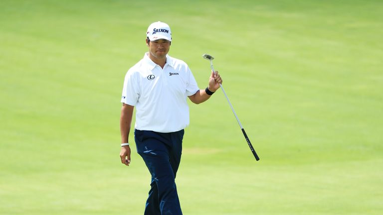 Matsuyama moved in to the mix with a back-nine 32