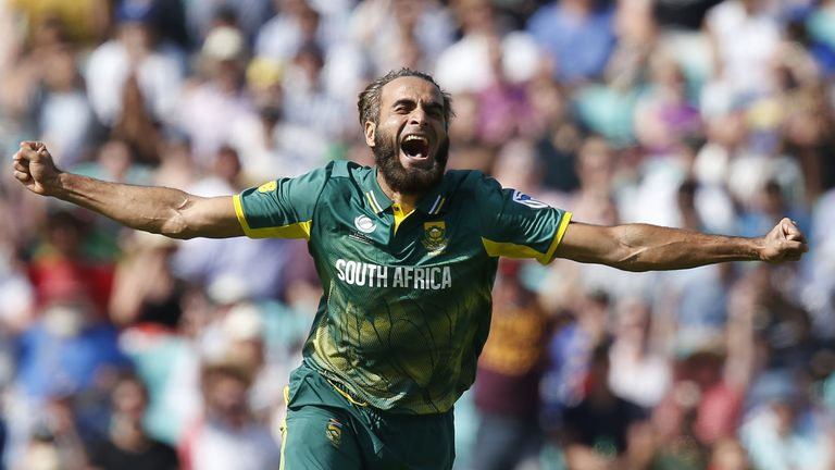 South Africa leg-spinner Imran Tahir's celebrations are 'worth the entrance fee alone'