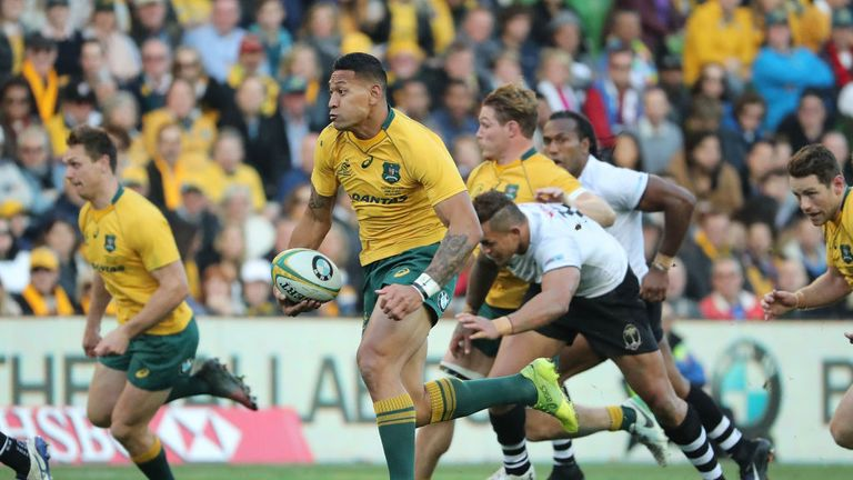 Cheika still has quality players such as Israel Folau to call upon