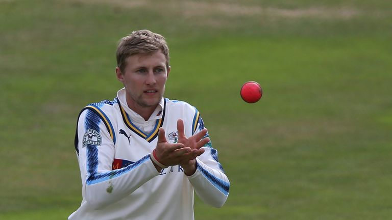 Joe Root played in Yorkshire's day-night County Championship clash with Surrey but spent limited time batting against the pink ball