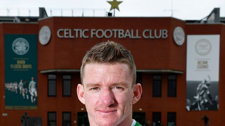 Jonny Hayes said Celtic was the 'only place I wanted to come'