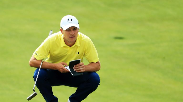 Jordan Spieth has been criticised for slow play