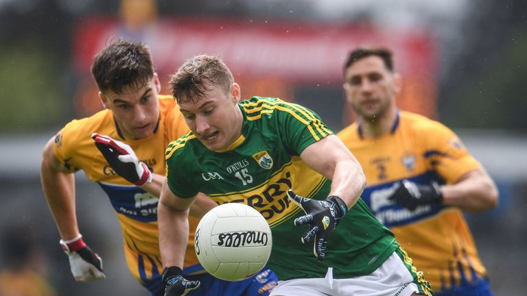 James O'Donoghue is back and that is good news for Kerry fans