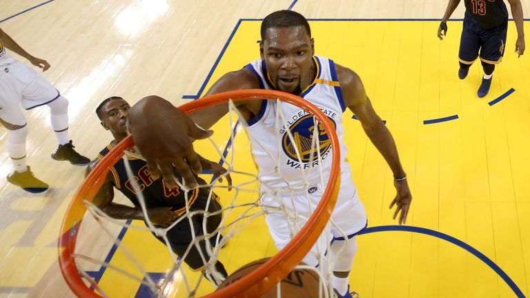 Did Kevin Durant Stare Down Rihanna During Game 1? Twitter Reacts