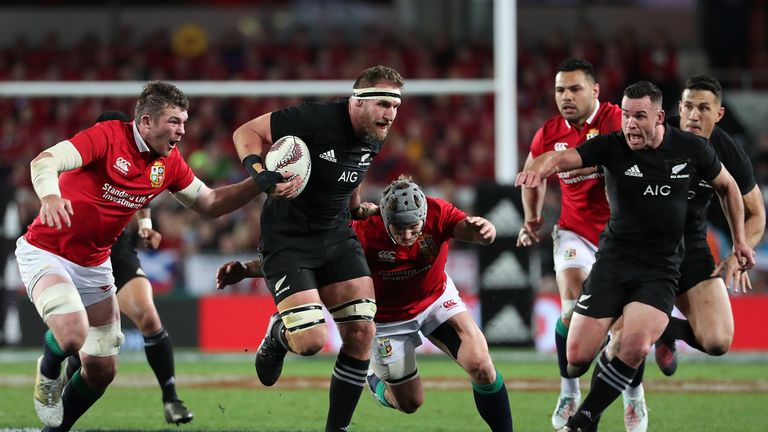 Warren Gatland irked by All Blacks' blind dives
