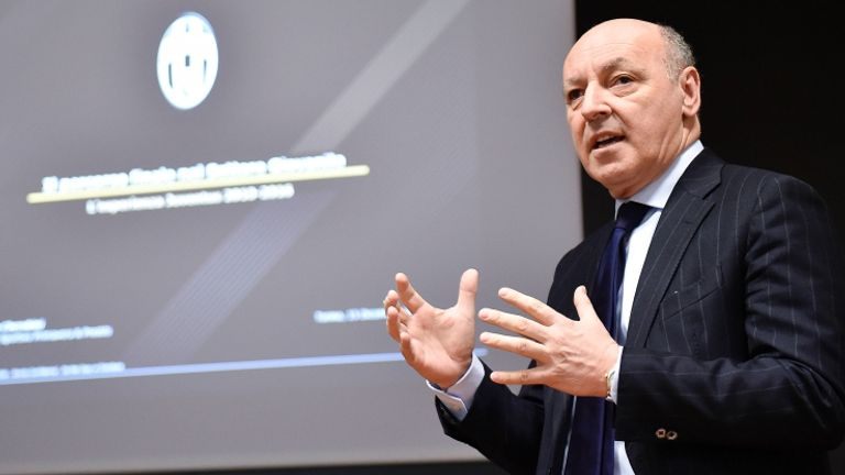 Giuseppe Marotta says Juve expect to announce Can as their player after the Champions League final
