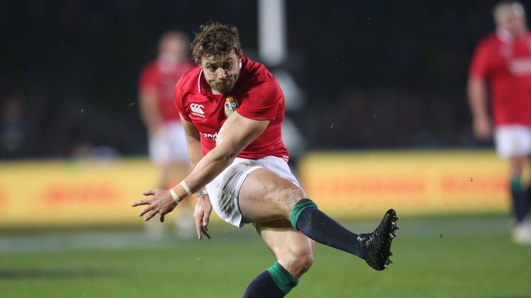 Farrell added Leigh Halfpenny will undergo return-to-play protocols after a head knock