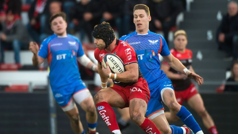 Leigh Halfpenny looks to have played his last game for Toulon