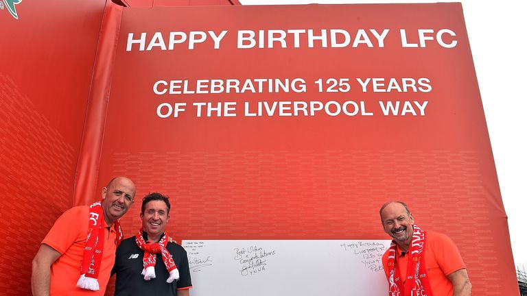 Celebrations are planned throughout the 125th year of the club's existence. Picture courtesy LFC