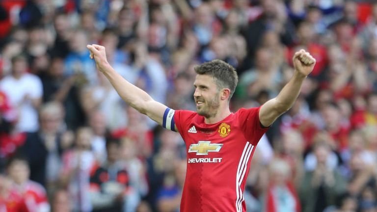 Michael Carrick is the new Manchester United captain