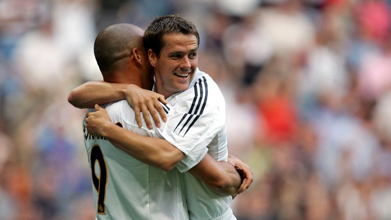Michael Owen swapped Liverpool and Real Madrid in 2004
