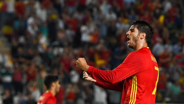 Alvaro Morata's Spain could still face a play-off