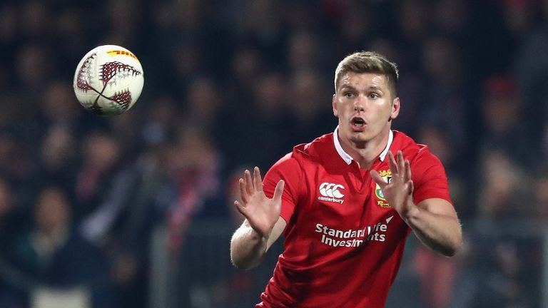 Owen Farrell has been moved from fly-half to inside centre for Saturday's second Test