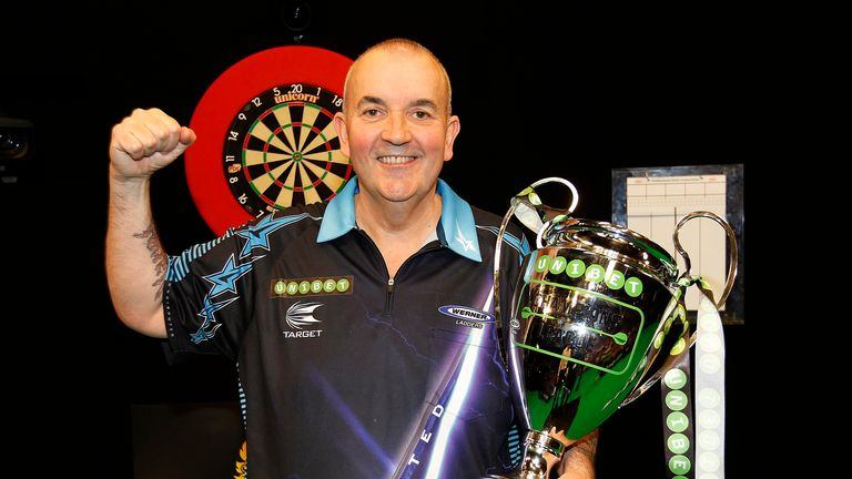 Phil Taylor will defend his Champions League of Darts title