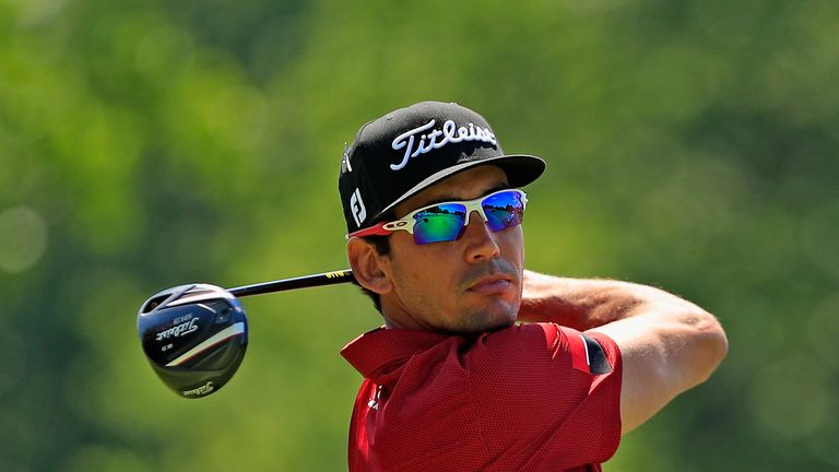 Rafa Cabrera Bello had held the overnight lead
