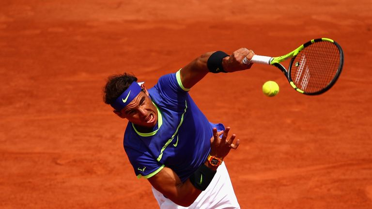Rafael Nadal was too strong for Roberto Bautista Agut