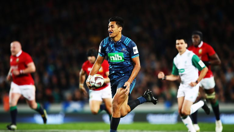 Rieko Ioane breaks for the Blues