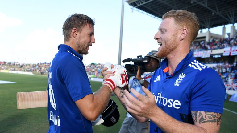 Joe Root and Ben Stokes are in the 2018 IPL auction