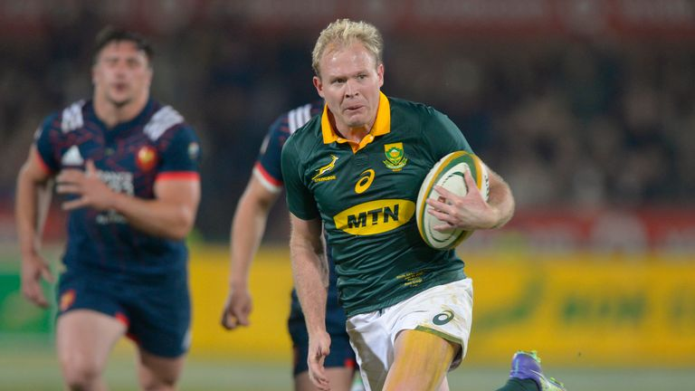 Hougaard replaces Ross Cronje in the XV, who is out with an ankle injury