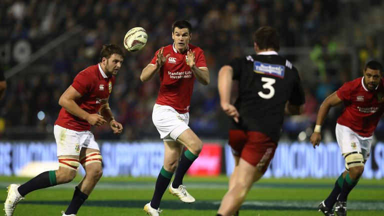 Jet-lagged Lions limp to lacklustre opening tour win in New Zealand