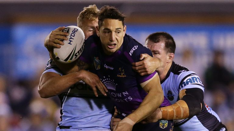 Billy Slater's form for Melbourne has earned him a recall