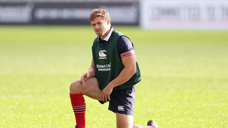 Leigh Halfpenny could be called upon to close the game out for the Lions