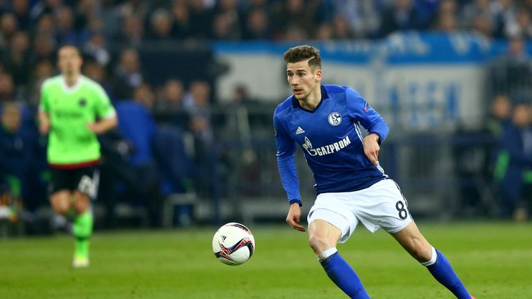 Goretzka made 41 appearances for Schalke last season