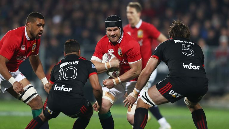 Sean O'Brien was excellent for the Lions against the Maori All Blacks