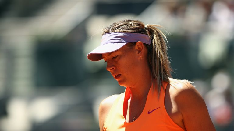 Injury to force Sharapova out of Aegon Classic