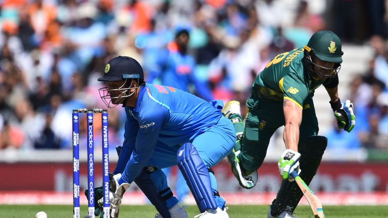 India bowl against South Africa in must win game