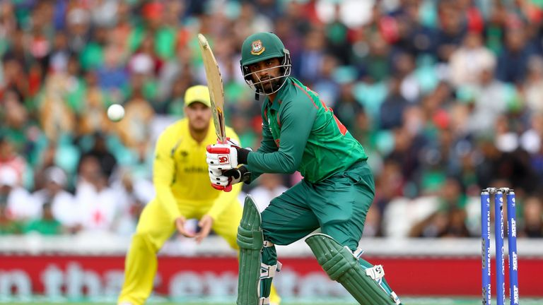 Champions Trophy: Photos from Australia Vs Bangladesh match