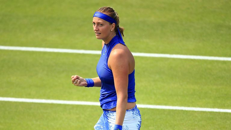 Petra Kvitova is on the comeback trail after a lengthy absence following a knife attack at her home in the Czech Republic in December
