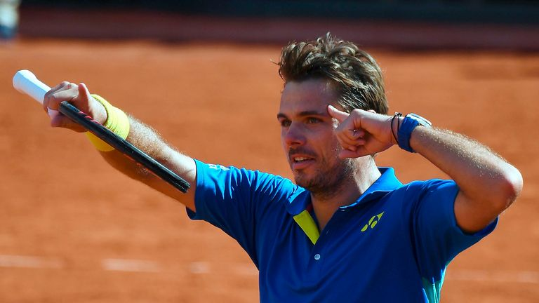 Wawrinka had his thinking cap on as he fought back to beat the top seed
