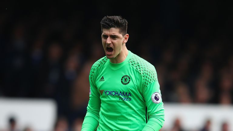 Thibaut Courtois made 46 appearances for Chelsea last season