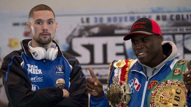 Stevenson stopped Bellew in their WBC title fight in 2013