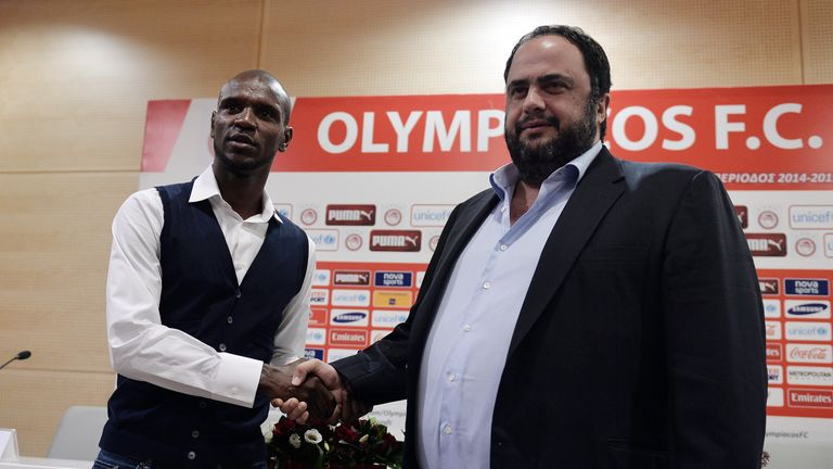 Marinakis bought Nottingham Forest in May 2017