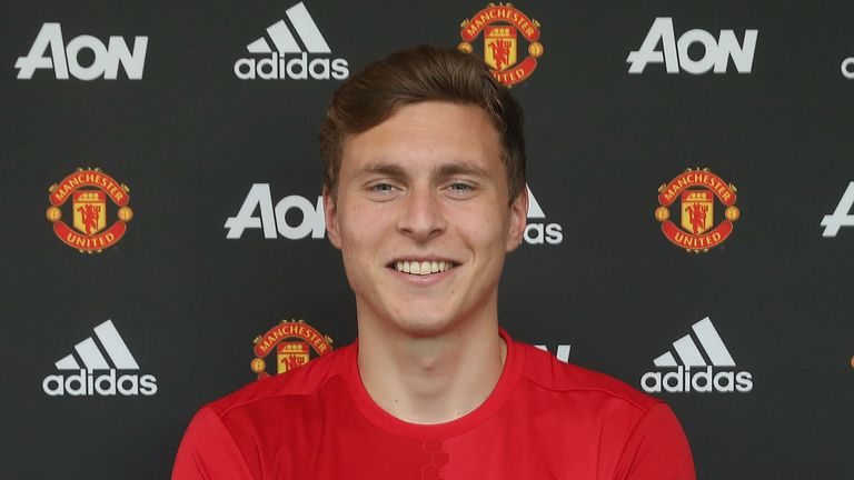 Victor Lindelof has been added to Manchester United's defensive options