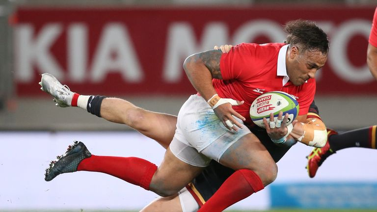 Tonga join England, France, Argentina and the USA in Pool C
