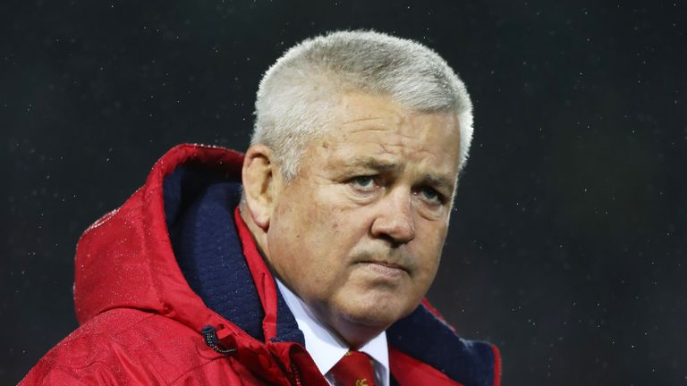 Warren Gatland has challenged referees to stop New Zealand's off-the-ball 'blocking'