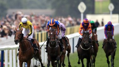 Big Orange (left) wins the Gold Cup from Order Of St George