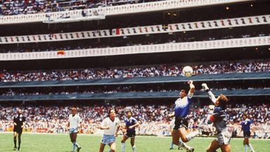 Diego Maradona admits his 'hand of God' goal would not have stood if Video Assistant Referees had been in place