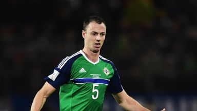 Evans has been named in Northern Ireland's squad for World Cup qualifiers against San Marino and Czech Republic