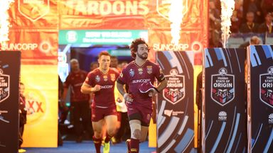 Johnathan Thurston suffered a season-ending shoulder injury in game two of State of Origin