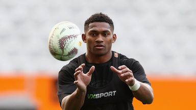 Highlanders wing Waisake Naholo will start against the Lions